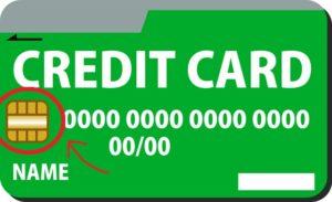 クレジットカード IICチップ
