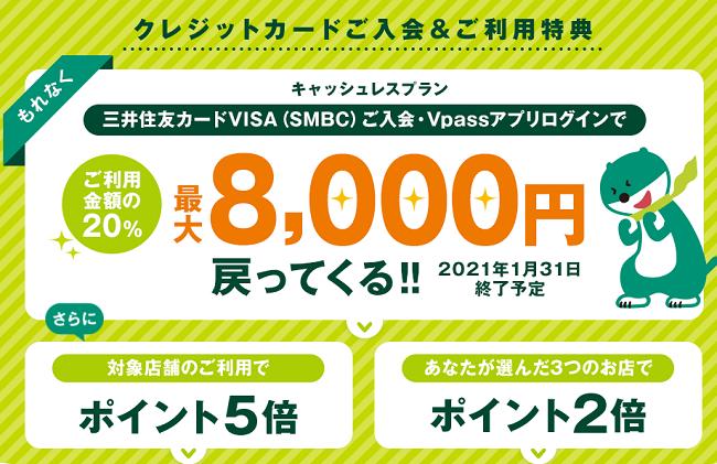三井住友VISA SMBC CARD クラシックの特徴とメリット・デメリット